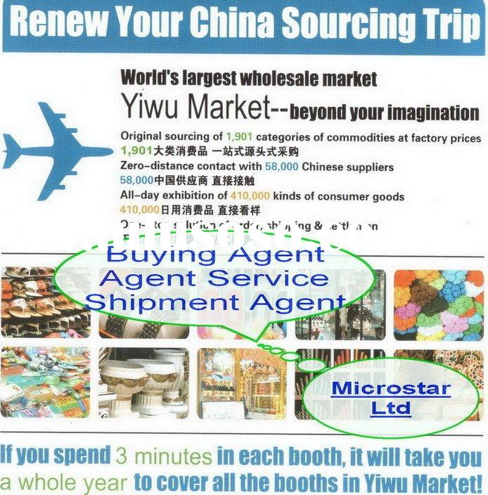 Translation service and purchasing agent in Yiwu market