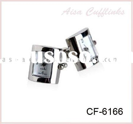 Trendy Watch Cufflinks with Top Quality & Reasonable Price
