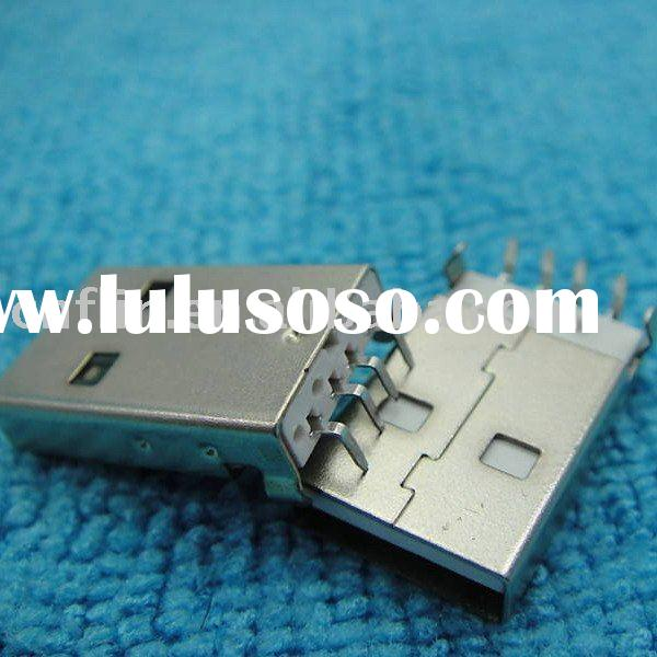 USB Type-A 4-Pin Male Panel PCB Mount Connector