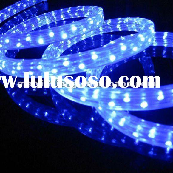 Ultra Bright Waterproof Color Changing 12V LED Rope Light with Remote Control