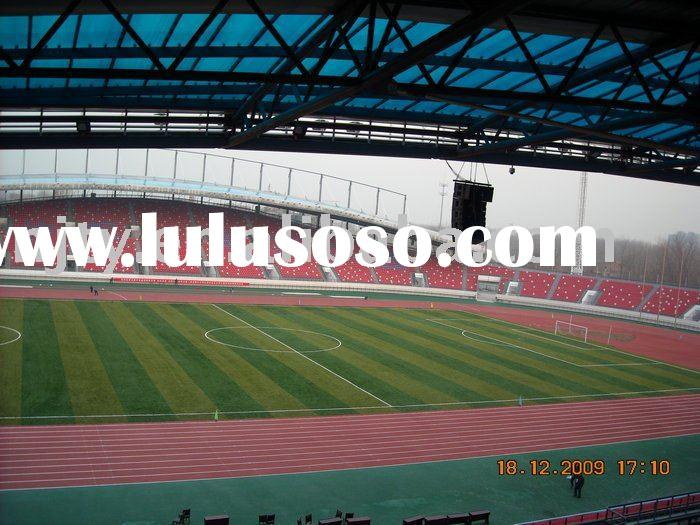 Ultra low-cost SGS test artificial turf synthetic grass for soccer field