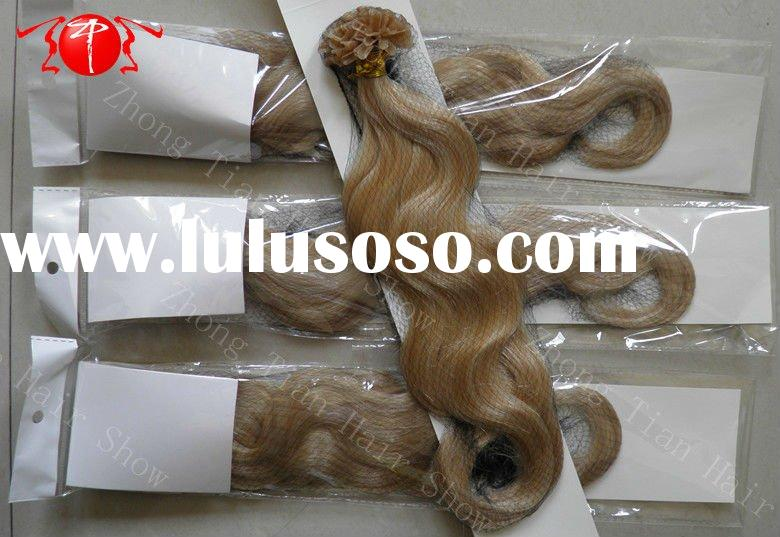 Unique Quality Remy hair U tip hair extension