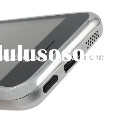 V 80+ Dual SIM Card Phone With MP5 & TV & Bluetooth (silver band & silver back housing)