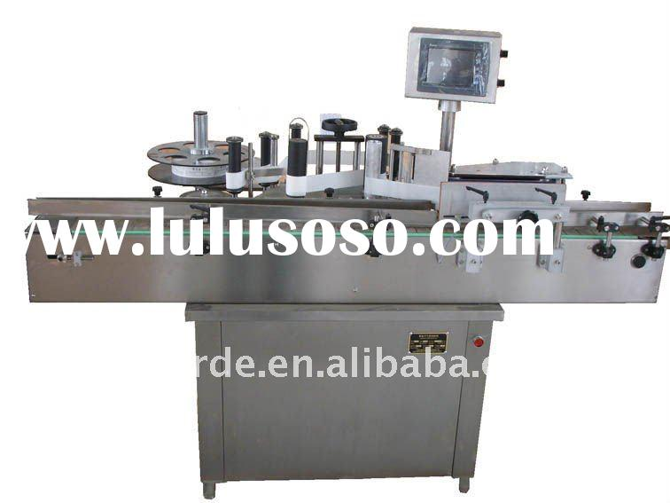 Vertical sticker labeling machine, paper labeling machine, glue labeling machine, non-dry glue label
