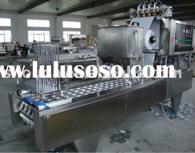 Volumetric Cup filling sealing machine