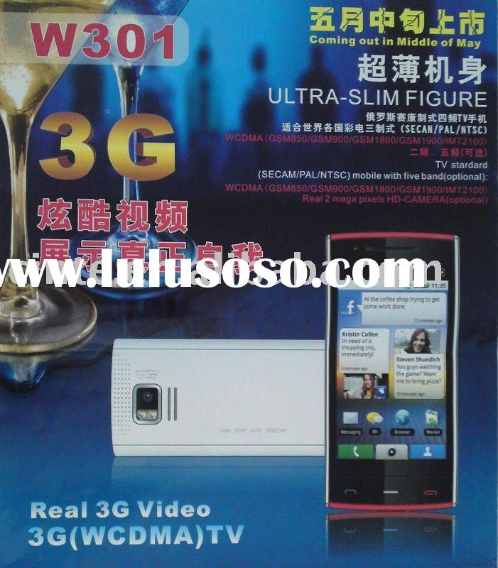 W301 Cell Phone:3G+ CDMA + GSM + WIFI + JAVA