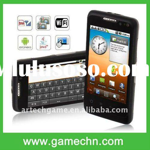 W802 WCDMA+GSM Single Card with Android 2.2 WiFi AGPS Java Capacitive Touch Screen Smart Phone