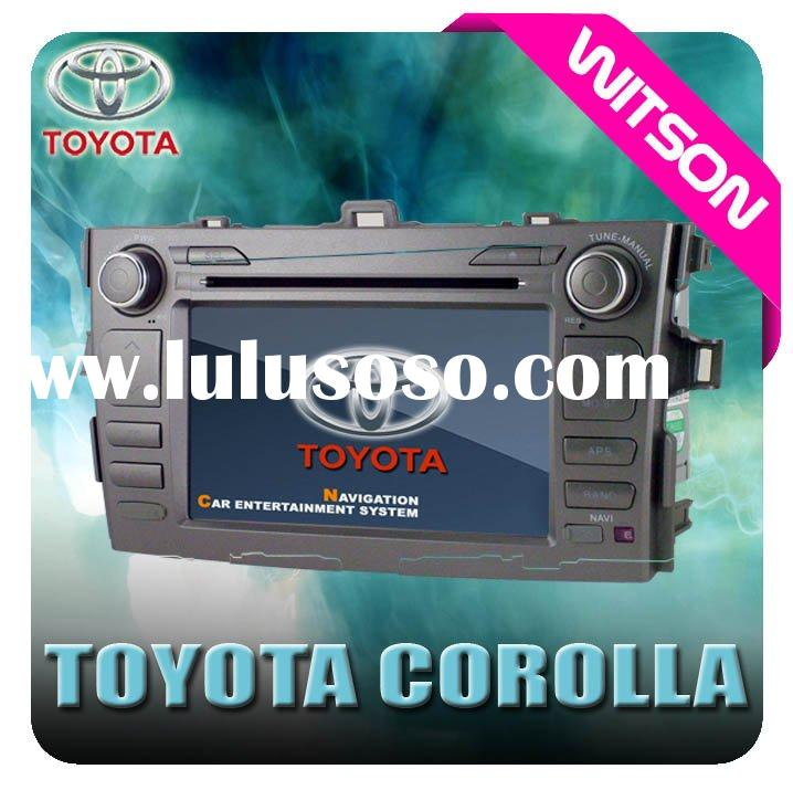 WITSON TOYOTA COROLLA GPS DVD Navigation Car Player System