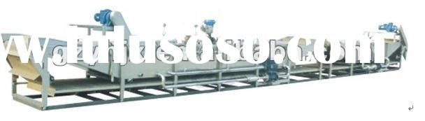 Water bath type continuous buss sterilization machine