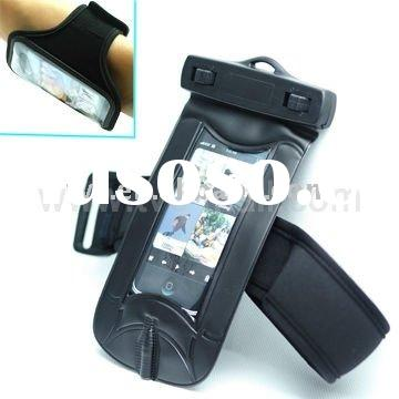 Waterproof Diving Armband Case for iPhone 4/MP3/MP4/Mobile Phone, Size: 12*9.2 cm