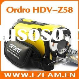 Waterproof digital video camera HDV-Z58 accept PayPal