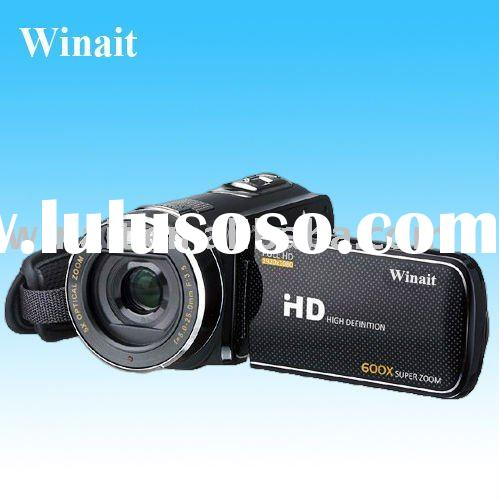 Winait's Max.16MP 23X Optical zoom 1080P HD Digital video camera with 2700X zoom