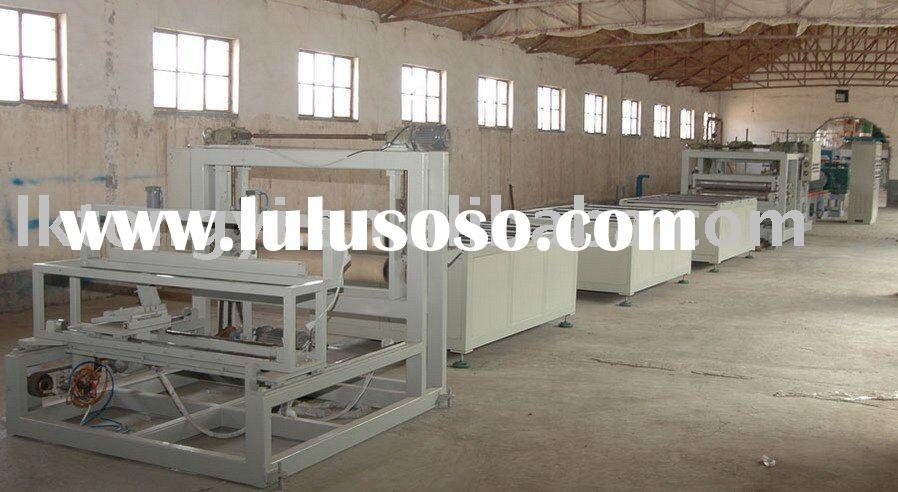 XPS heat insulation foam board making machine