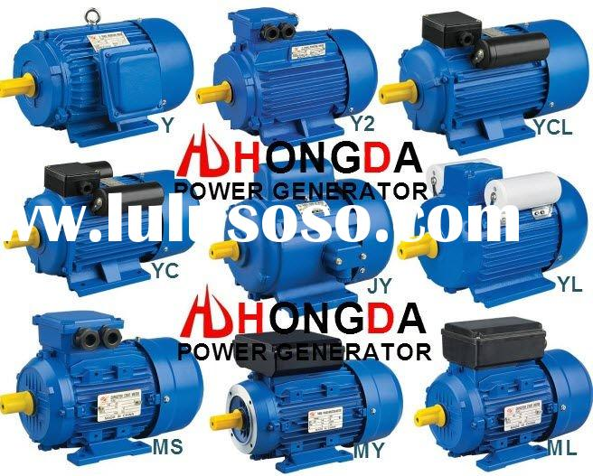 YC 5HP Single-Phase Electric Motor