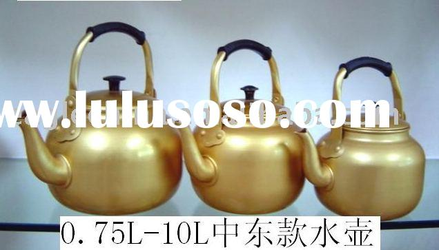 Yellow Tea Kettle,Aluminium Tea Kettle,Golden Tea Kettle