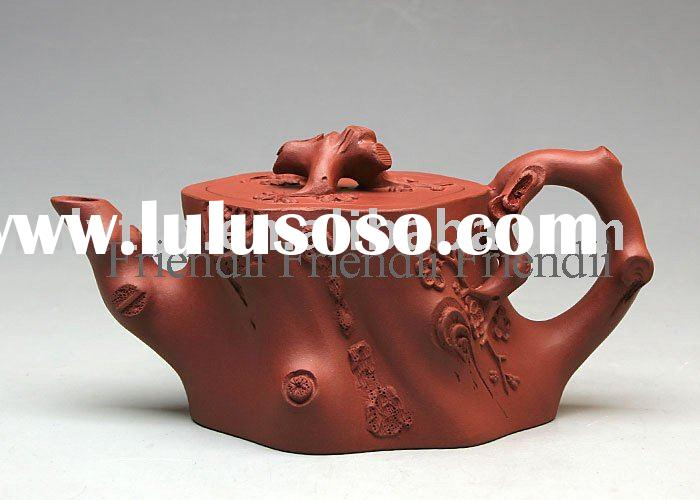 Yixing zisha purple clay teapot pottery