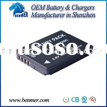 ( GS,UL,CE,RoHS Approved) Digital Camera Battery for Panasonic DMW-BCG10E
