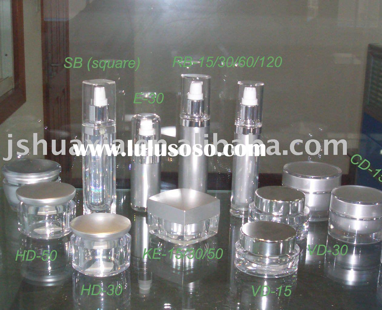 acrylic lotion bottles,cosmetic packaging