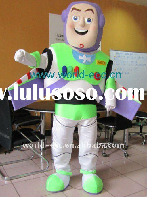 adult toy story buzz lightyear character mascot costumes