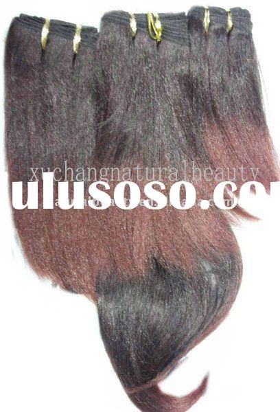 afro-tex yaki synthetic hair,Kanekalon synthetic hair extension