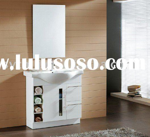 bathroom cabinet ( MDF + WHITE HIGH GLOSS PAINTING)