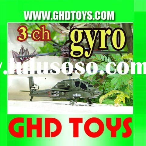 best quality 3 channel giant 2 foot electric Apache Army Remote Control rc helicopter