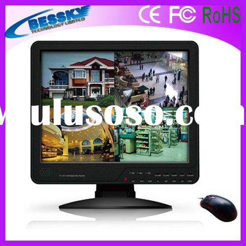 cctv products 15'LCD all-in-one dvr software BE-8704