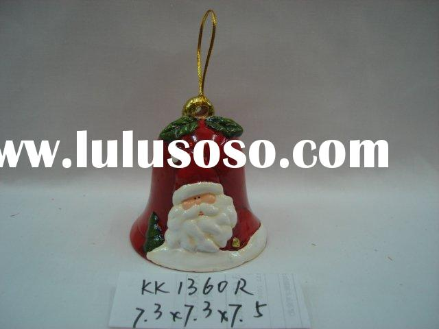 ceramic xmas bell ring of santa,christmas truck,candle holder