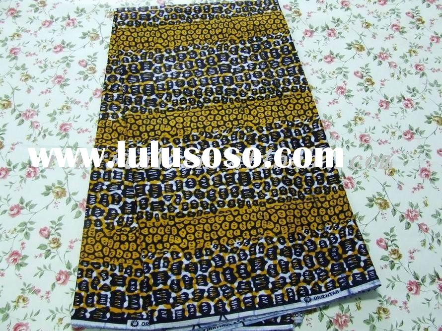 cheapest wholesale fashion african veritable wax block print fabric 008v