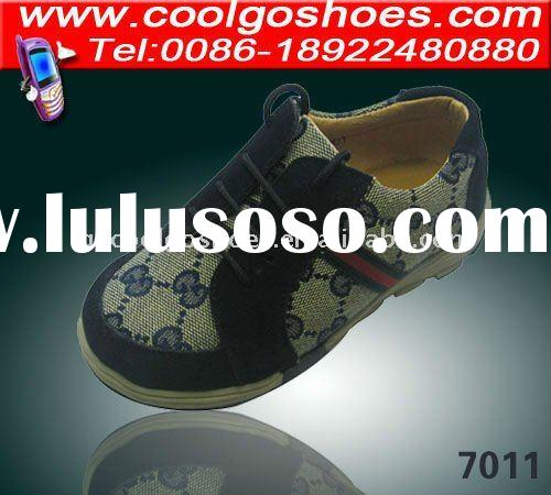 classical designs children leather school shoes for boy