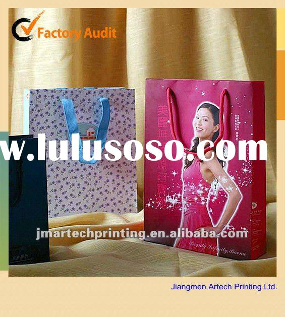 customized high quality paper bag printing