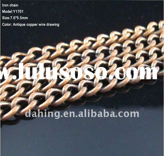 decorative brass chain,metal link chain