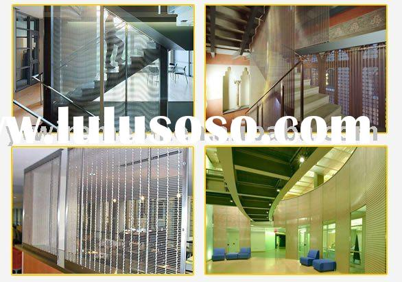 decorative metal mesh curtain/facades decorative metal mesh