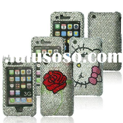 diamond crystal case for iphone 3G