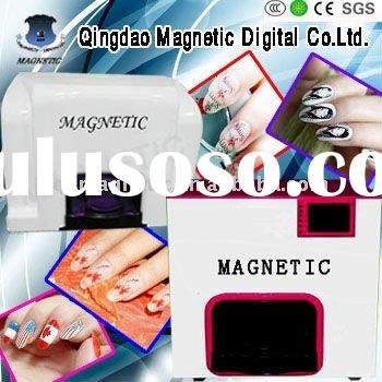 digital nail art printing machine with host