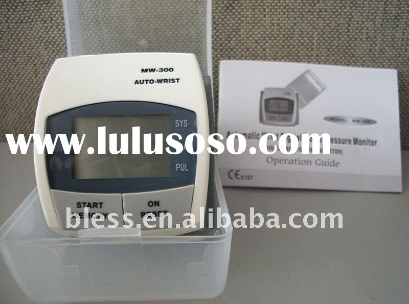 digital wrist blood pressure monitor/electronic blood pressure monitor