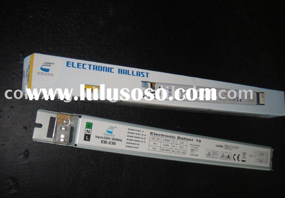 electronic ballast T5 or T8 fluorescent lamp