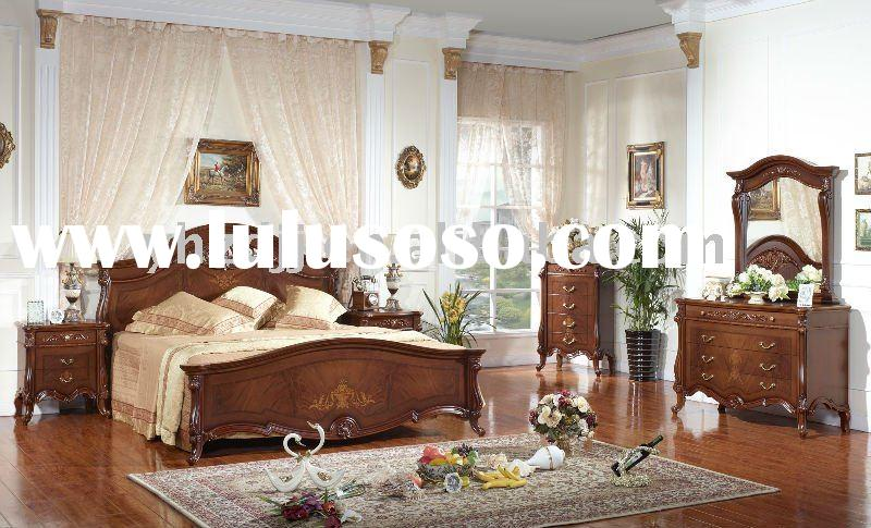 european classical simple furniture/home furniture/bedroom set 8036