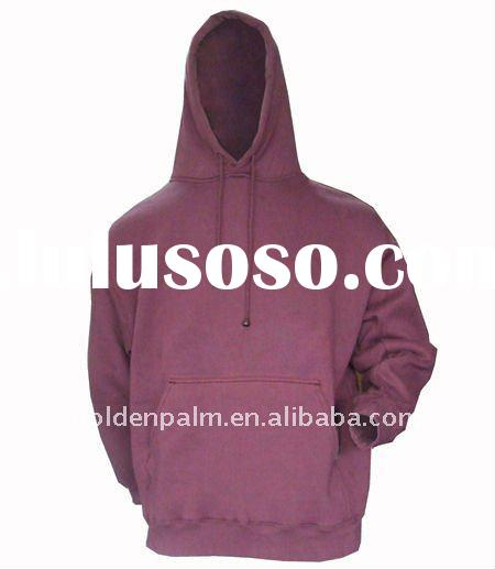 fashion 2012 100% organic cotton men's hoodies