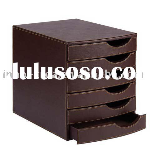 Leather dresser organizer leather dresser organizer - Faux leather desk organizer ...