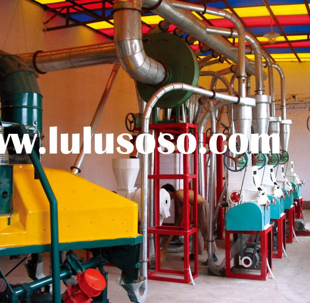 flour milling plant, flour milling equipment, flour processing equipment, maize flour machinery