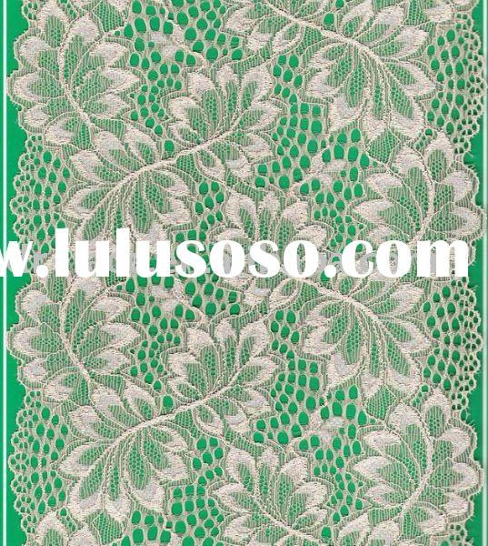 flower voile lace material