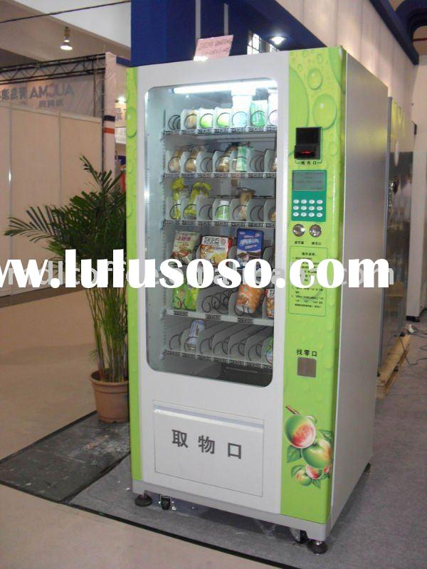 food and cold beverage vending machine