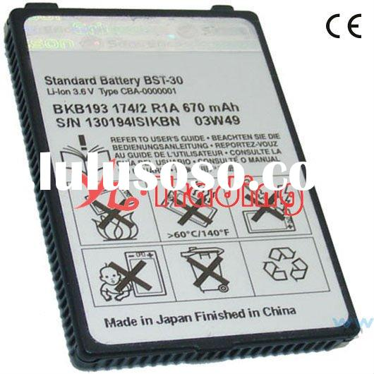 for sony ericsson mobile phone battery K300 bl-5f