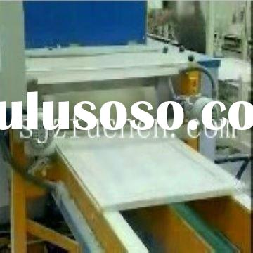 full-automatic gypsum suspended ceiling board production line