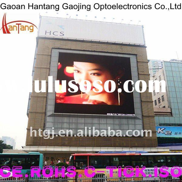 full color P16 outdoor advertising led display with high definition