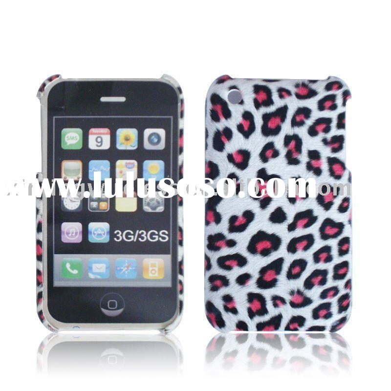 good look leather design case for iphone 3G