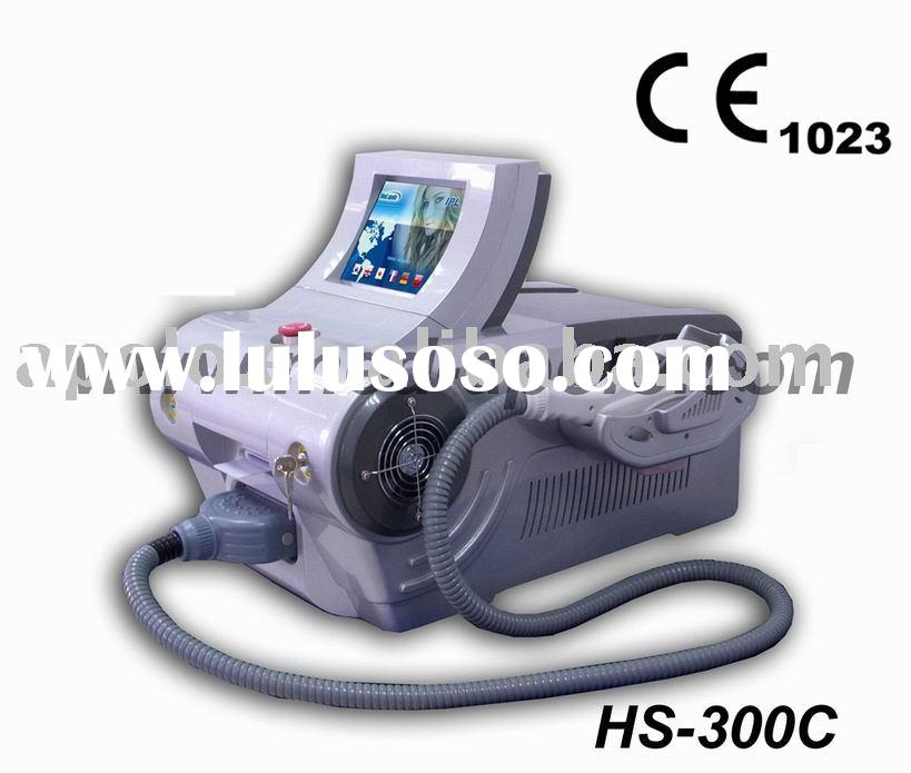 hair removal and acne treatment--HS-300C-(CE certificate, ISO 13485,Factory registered in FDA)