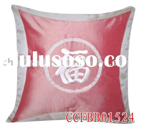 handmade cushion cover/40*40cm/100%polyester