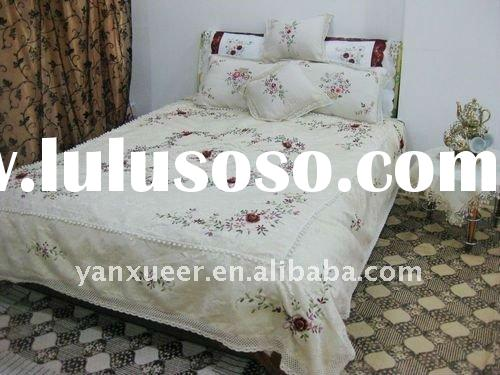 Embroidered Bed Embroidered Bed Manufacturers In Lulusoso